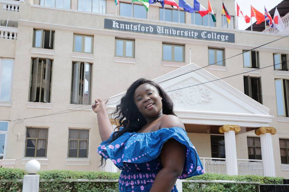 Maame Serwaa Gets 4 Year Free Tuition At KNUSTFord University
