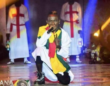 Patapaa Reveals Why He Goes On Stage With A Ghanaian Flag Around His Neck