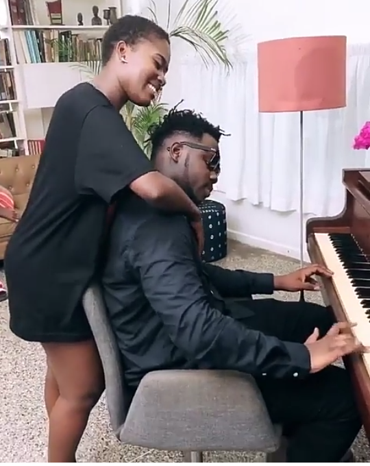 Image result for photos of Medikal and Fella Makafui