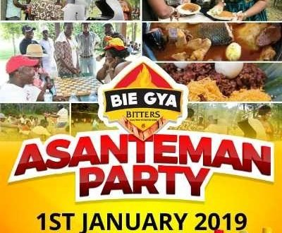 Bie Gya Bitters To Host Asanteman Party On January 1