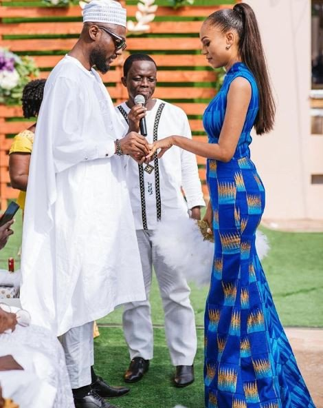 Former Beauty Queen Ties The Knot(PHOTOS)