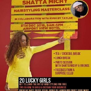 Shatta Michy To Empower 20 Lucky Girls Through Hairstyling For Free