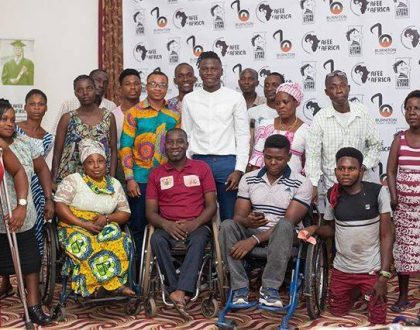 Stonebwoy Holds Empowerment Program For People Living with Disabilities