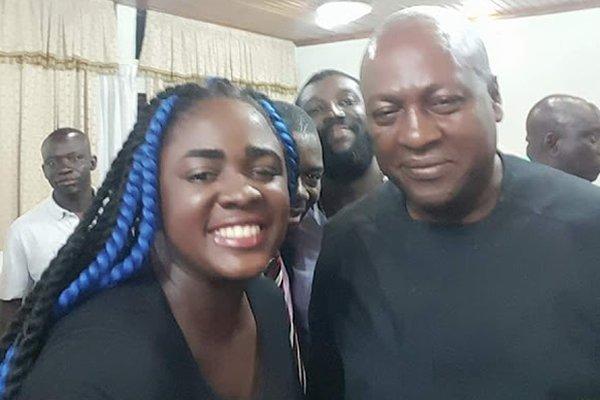 Kumawood Actress Supports John Mahama