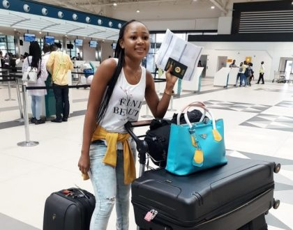 Rosemond Brown Makes Her International Travel
