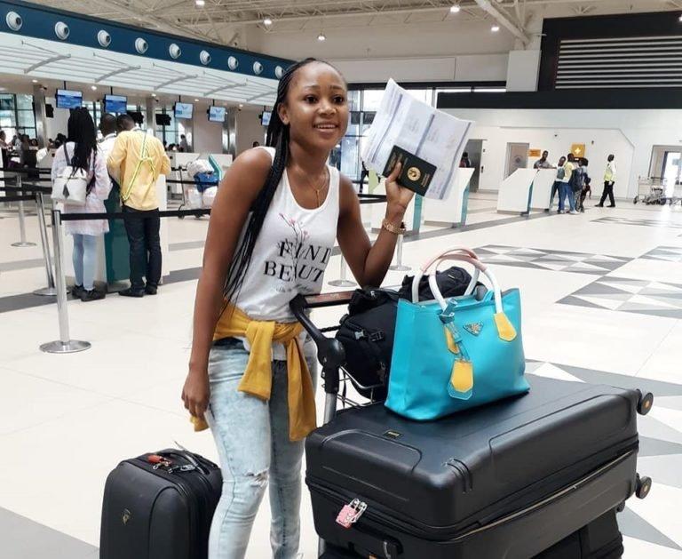 Rosemond Brown Makes Her International Travel