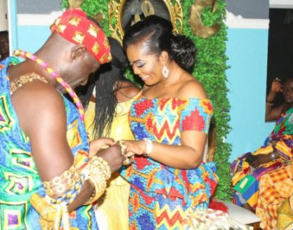 Photos Of Captain Smart's Wedding To USA Girlfriend