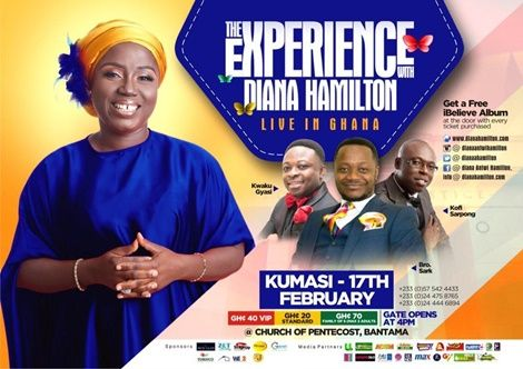 Diana Hamilton Presents 'The Experience 2019' In February