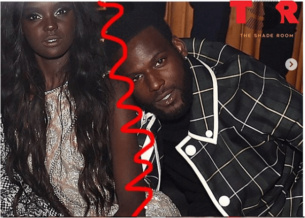 Kofi Siriboe And Top Model Duckie Thot Reportedly Split