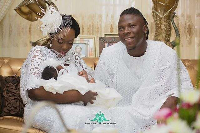 Stonebwoy And Wife Celebrate Their Daughter's 1st Birthday With Rare Photos