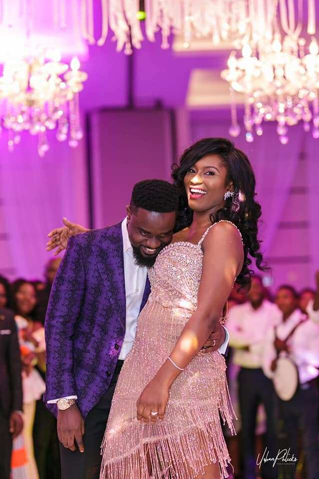 Sarkodie Dances For Tracy On Her Birthday(VIDEO)