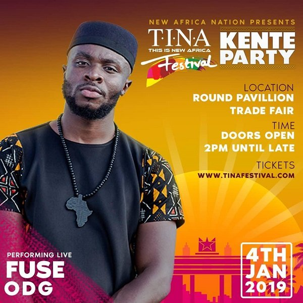 Fuse ODG Readies For TINA Festival