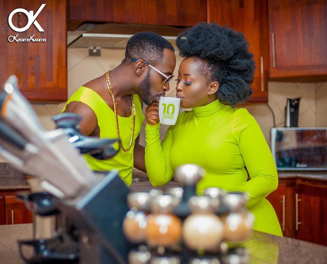 Okyeame Kwame And Wife Celebrate 10 Years Of Marriage(PHOTOS)
