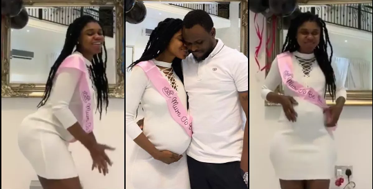Becca Drops First Video From Her Baby Shower Days After Welcoming Her Fist Child
