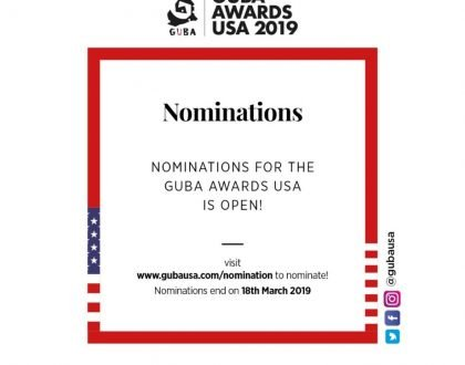 Nominations Open For GUBA Awards USA 2019