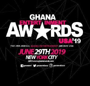 , 3rd Edition Of Ghana Entertainment Awards USA Slated For June 29