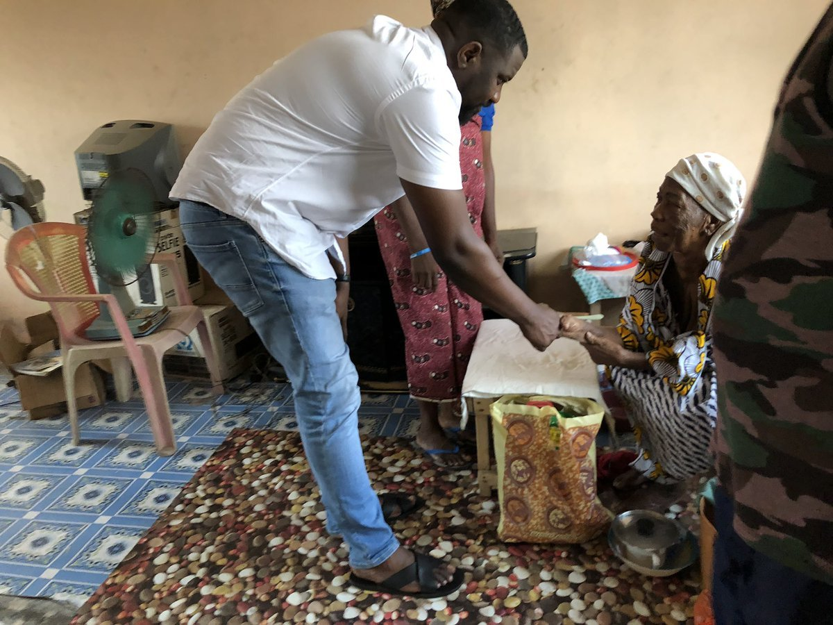 John Dumelo Celebrates 35th Birthday With Widows(PHOTOS)