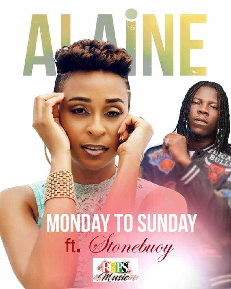 Jamaican Singer, Alaine, Announces Collaboration With Stonebwoy