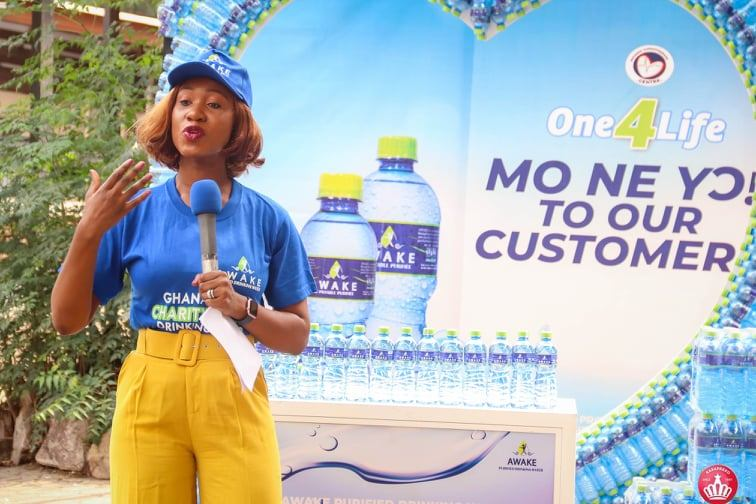 Awake Purified Drinking Water's Donation To The National Cardiothoracic Center, Korle-Bu