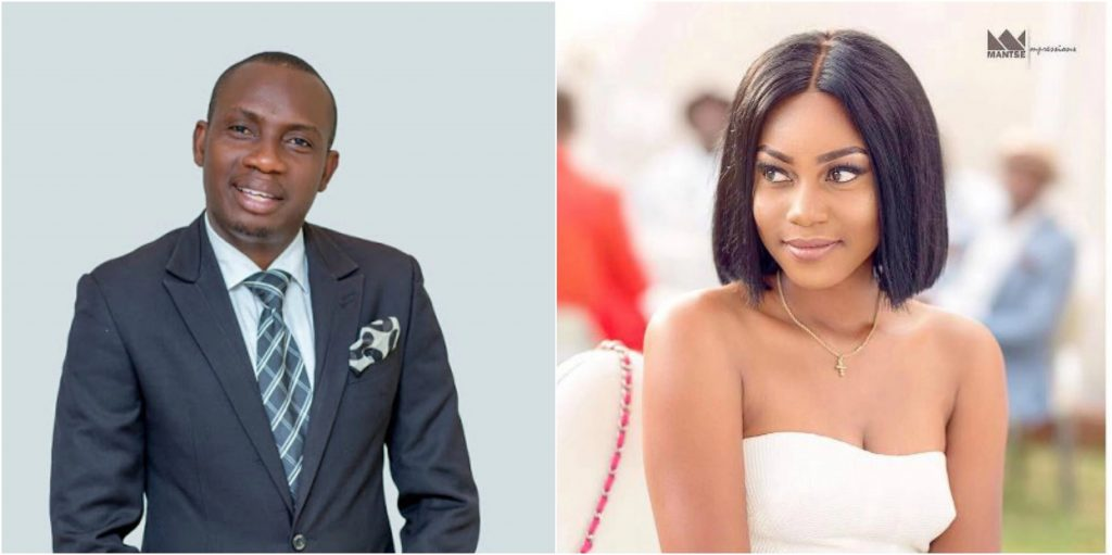 """I Blame Counselor Lutterodt's Wife For Some Of The Distasteful Things He Says""- Yvonne Nelson"