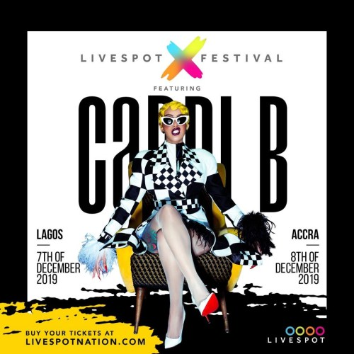 Image result for cardi b coming to ghana