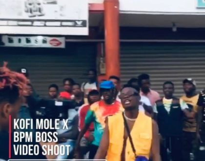 Kofi Mole Shoots Music Video For Next Release Featuring BPM BOSS.