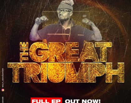 "Waliy Abounamarr unveils ""THE GREAT TRIUMPH"" Artwork and Tracklist"