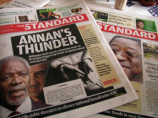 The standard newspaper