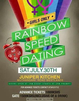 Rainbow speed dating in kenya