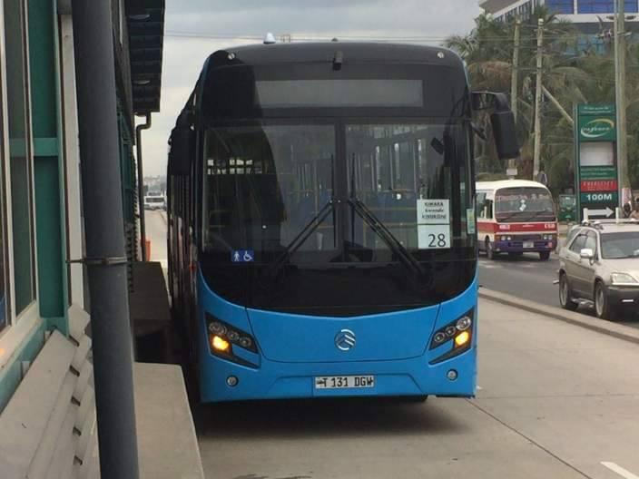 bus rapid transport tanzania tanroads