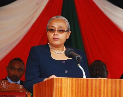Margaret Kenyatta responds to Millie Odhiambo after she insulted her husband