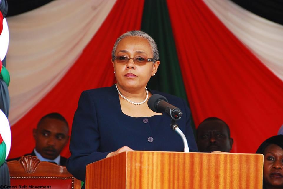 Margaret Kenyatta responds to Millie Odhiambo after she insulted her husband