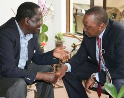 Panic in Uhuru Kenyatta's camp as latest opinion poll puts Raila Odinga miles ahead