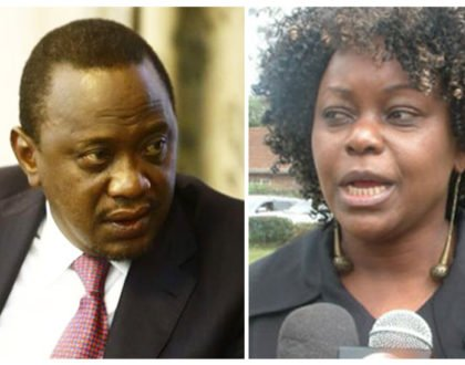 Don't mess with Uhuru: This is what is happening to Millie Odhiambo a week after she insulted him