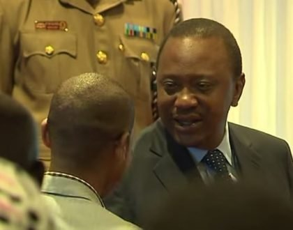 President Uhuru Kenyatta crack the whip on Babu Owino