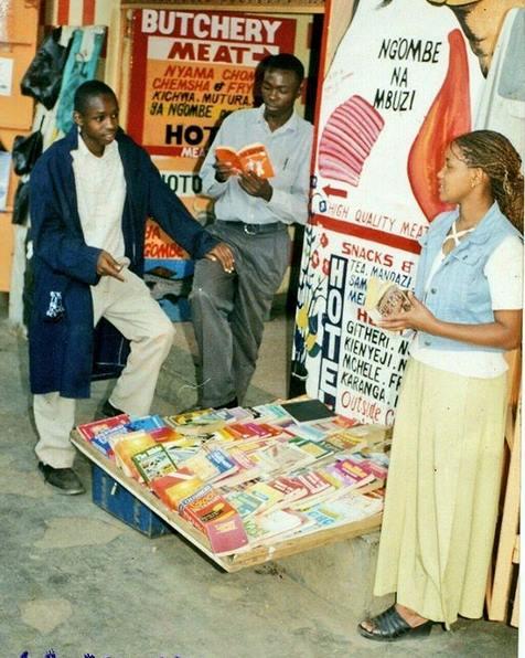 Boniface Mwangi a hawker