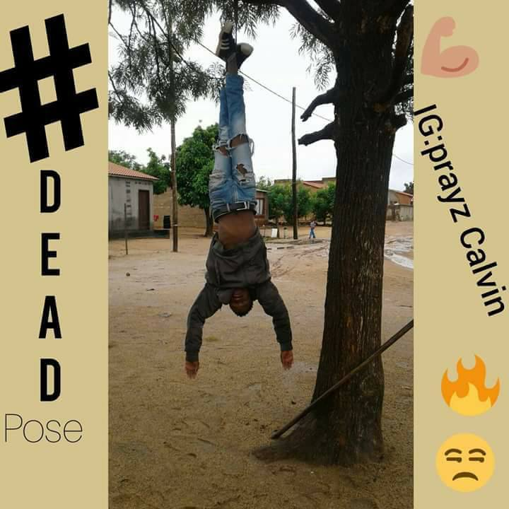 Hilarious Images from the Dead pose Challenge which has taken the internet by storm