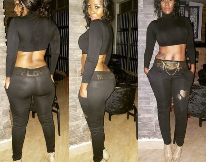 Curvaceous socialite forced to reveal her daughter's grade after media reports claimed she failed in her exams