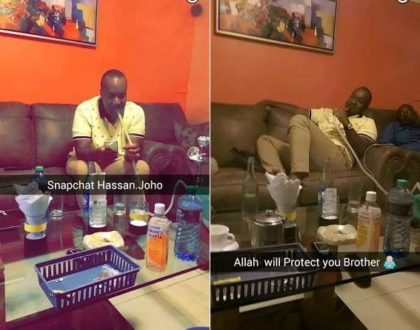 """""""Joho lies to you that he is against Uhuru but he hangs out with Uhuru's son smoking shisha"""" Alai uncovers the BIGGEST political lie in Kenya"""