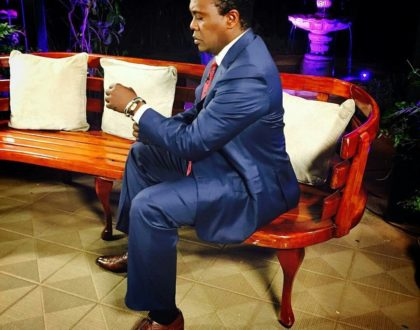 Did Jeff Koinange just diss KTN? a day after JKL's first episode on Citizen TV...just have a look at this