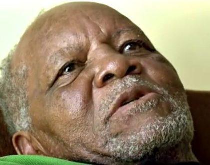 Legendary footballer Joe Kadenge begs President Uhuru for ONE thing only as he lies on his deathbed