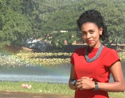 Joy Doreen Biira takes over Edith Kimani's job at a German TV station
