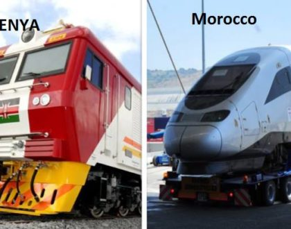 Wachina wametuchesa! Kenyans cry foul after comparing Moroccan new trains with the new SGR trains arriving at the port of Mombasa (Photos)