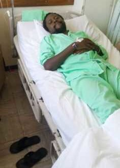 Radio Jambo's Liondeh and Mbusii's Co-host admitted in hospital. This is what he's suffering from