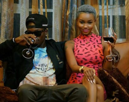 Shaqtheyoungin with Huddah