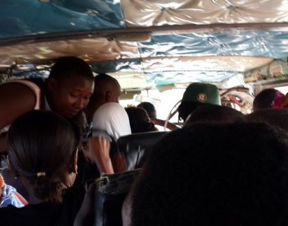 Matatu driver and conductor taught a harsh lesson after they robbed a passenger