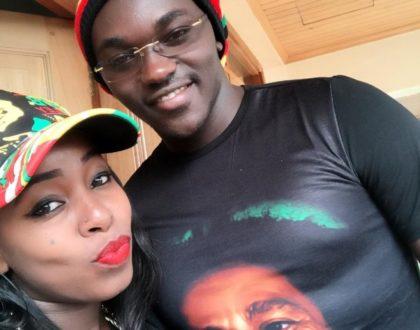 Saumu Mbuvi and boyfriend