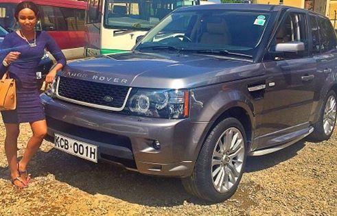 Huddah Monroe selling her posh Range Rover