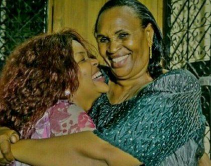Wema Sepetu and her mum