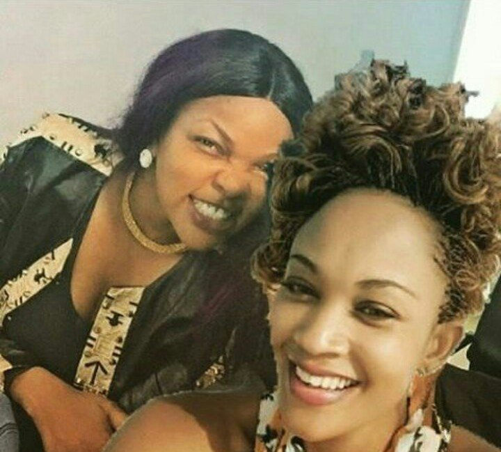 Wema Sepetu hanging with Zari